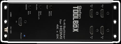 Gefen Toolbox Splitter - 1-4 HDMI