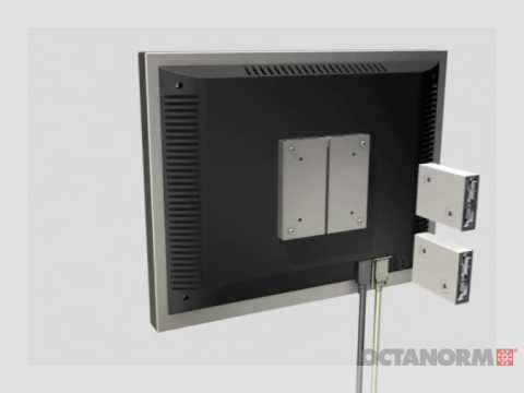 Octanorm VESA 100x100_75x75