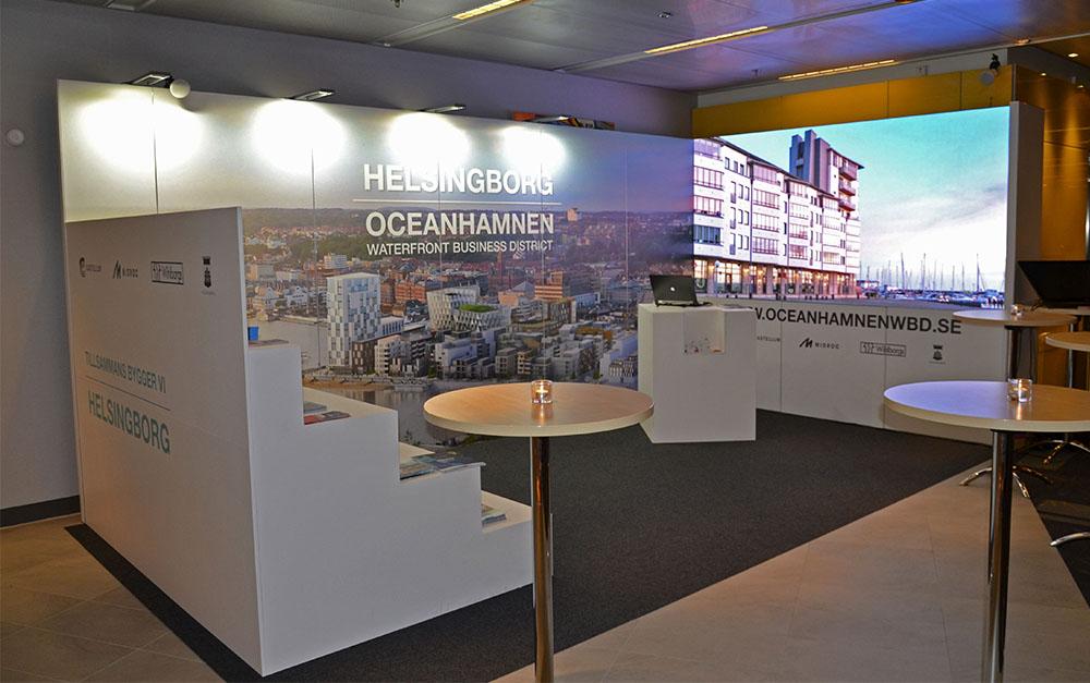 LEDskin 6x3 to Helsingborg Kommun at Business Arena 2017 Stockholm