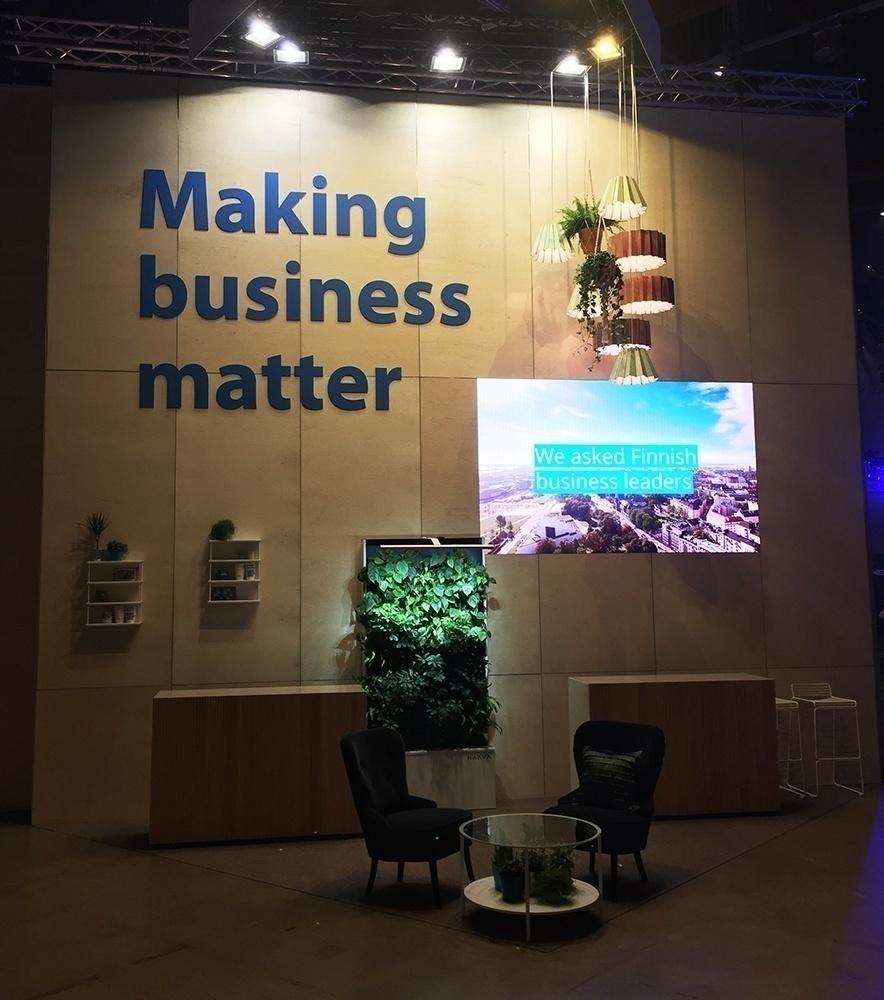 LED till Nordic Business Forum 2017 I Helsingfors