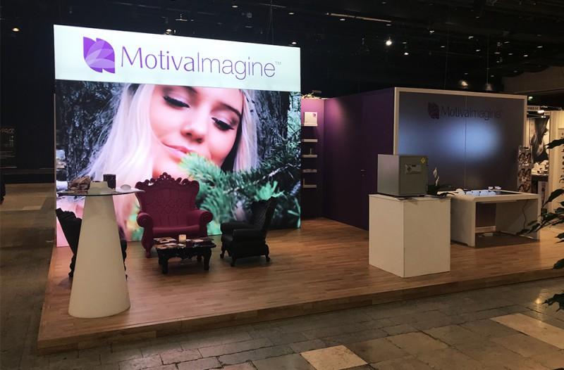 LEDskin to Motiva at Acadermia 2017 by MultiNet HyrData in Stockholm Sweden