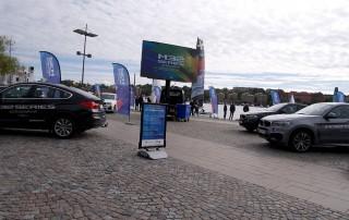 LEDbil 12kvm M32 Series 2017 Scandinavia in Stockholm