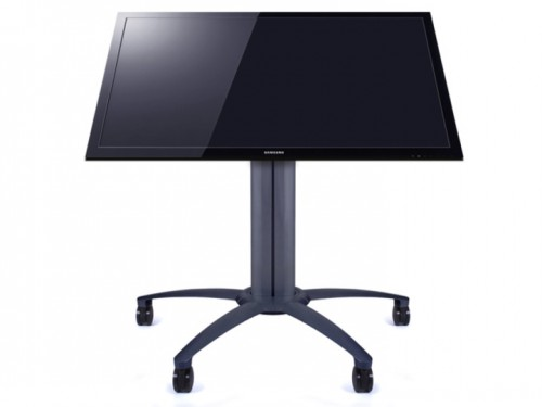 M Public Display Stand 110 Tilt Table Black